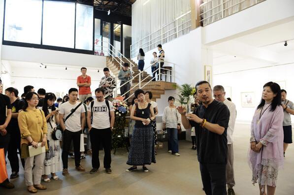 心语・陈宏宇艺术个展在北京方圆美术馆开幕