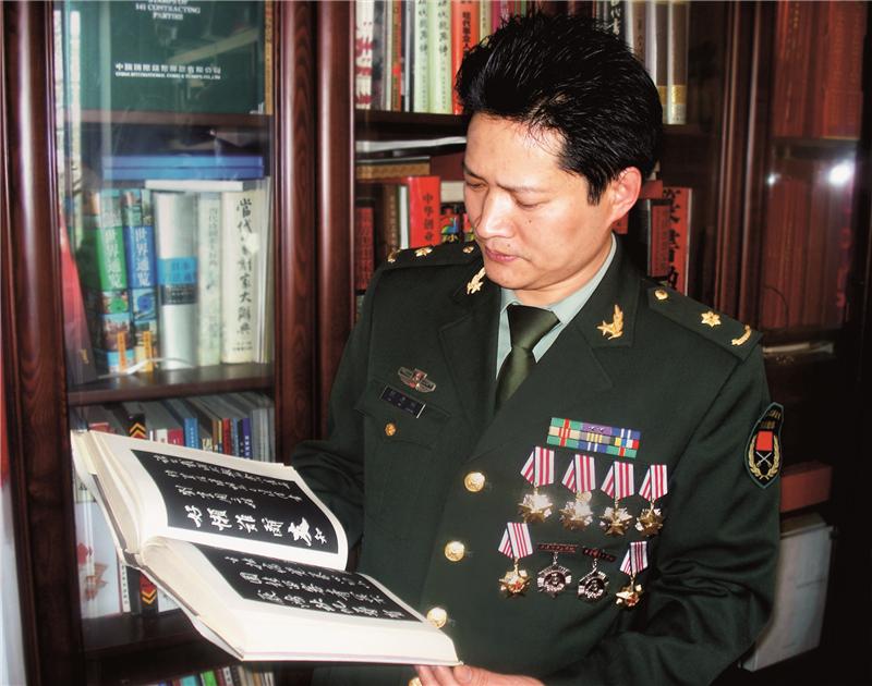 名家访谈:著名军旅书法家倪进祥