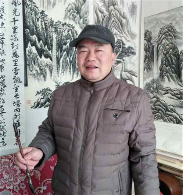 抒怀十九大・文艺赞雄安――书法家王斌