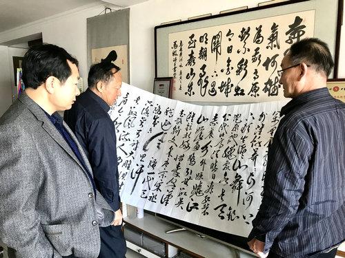 马牧应邀走进中国周易新闻网进行文化交流