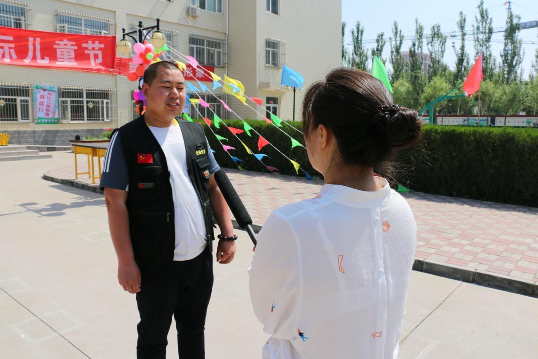 """河北怀来关爱儿童成长齐聚特教学校与残疾学生共庆""""六一""""儿童节"""