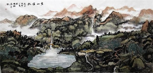 抒怀十九大・文艺赞雄安:画家张林