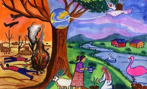 少儿时代艺术馆:孩子学画画对成长的七大好处