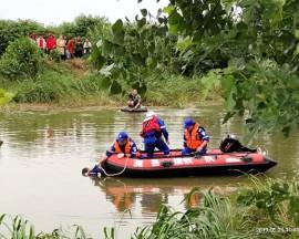 湖南省常德市澧县应急救援队义务打捞为人民