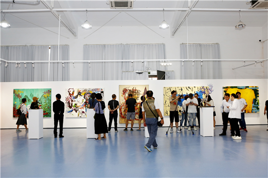 """跨越大洋・重塑未来――中拉国际艺术展""""在塑三文化创意园开幕"""