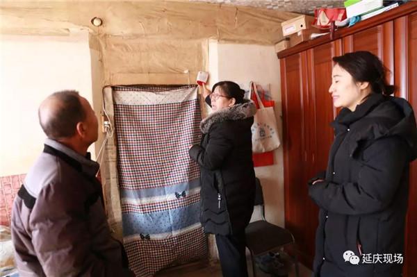 寒冬送暖、旧县镇米粮屯村开启残疾人冬季慰问活动