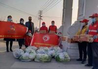 淄博市淄川区罗村镇河东村委和公益在线、守望相助等进行志愿服务