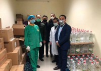 江苏鲁商在行动(五)苏州市山东商会捐赠8500L医用酒精助力防疫工作